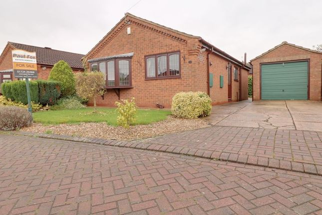 Thumbnail Detached bungalow for sale in Witham Drive, Burton-Upon-Stather, Scunthorpe