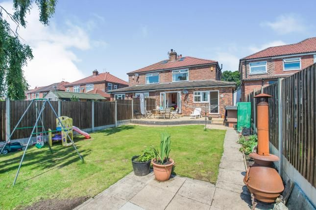 Rear Garden of Thorn Road, Swinton, Manchester, Greater Manchester M27
