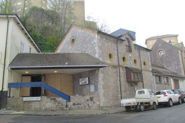 Commercial property for sale in Park Hill Road, Torquay