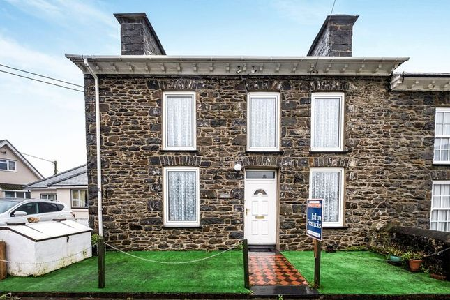Thumbnail End terrace house for sale in Stryd-Yr-Eglwys, Llanon