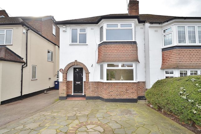 Thumbnail Semi Detached House For Sale In Park Road Barnet