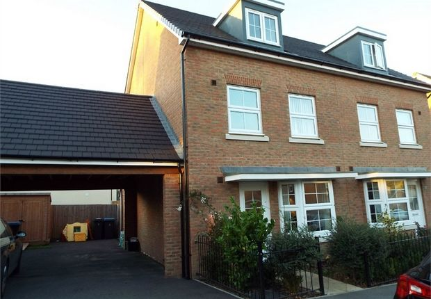 Thumbnail Semi-detached house for sale in Sholden Drive, Sholden, Deal