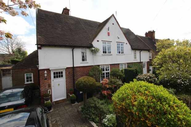 Thumbnail Semi-detached house for sale in Midholm, London, Greater London
