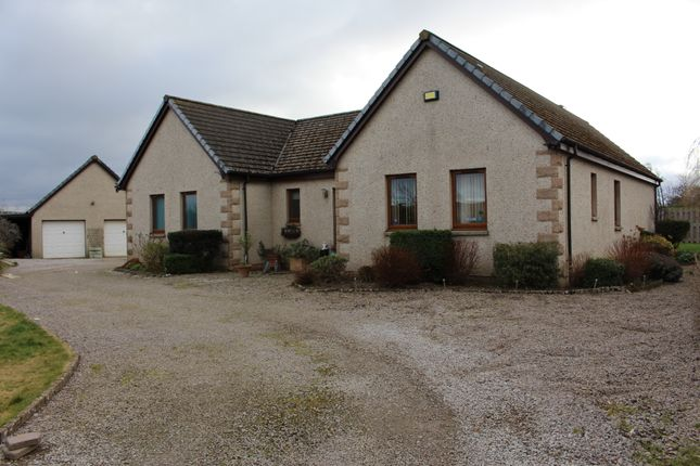 Thumbnail Detached bungalow for sale in Broom Of Moy, Forres