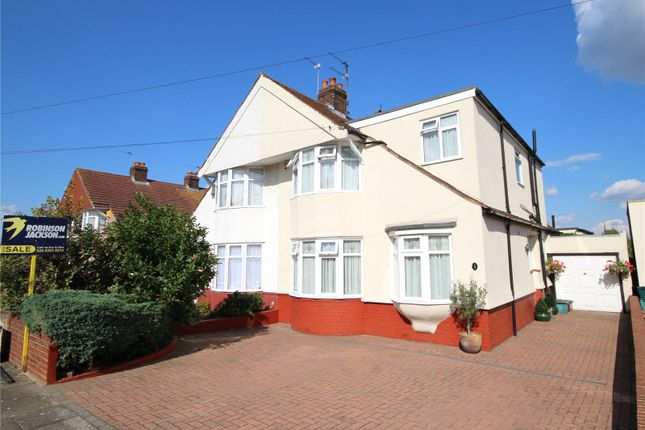 Thumbnail Semi-detached house for sale in Belmont Avenue, South Welling, Kent