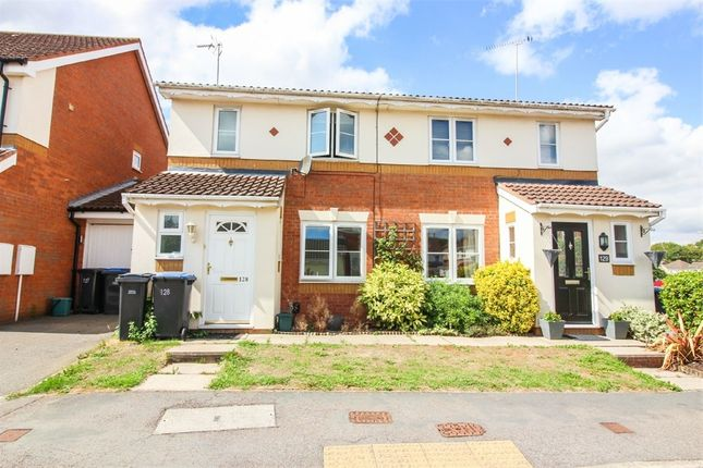 Thumbnail Semi-detached house to rent in Challinor, Church Langley, Harlow, Essex