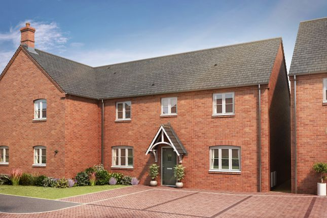 Thumbnail Detached house for sale in The Sutton V+, Manor, Leys, Manor Lane, Harlaston, Staffordshire
