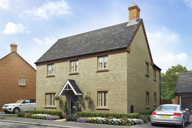 "Thumbnail Detached house for sale in ""The Ludlow"" at Towcester Road, Old Stratford, Milton Keynes"