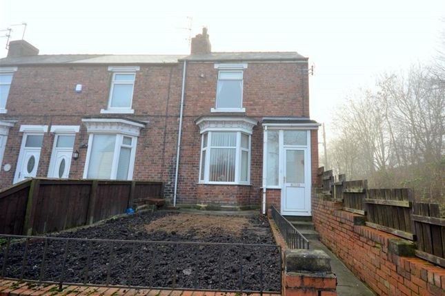 Thumbnail End terrace house to rent in Greenfields Road, Bishop Auckland