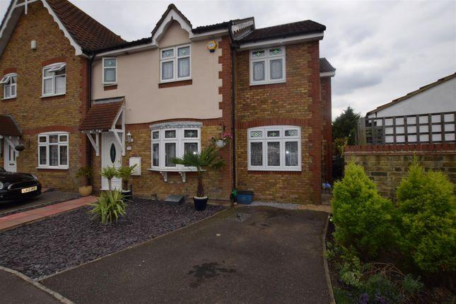Thumbnail Semi-detached house for sale in Heathfield Park Drive, Chadwell Heath, Romford