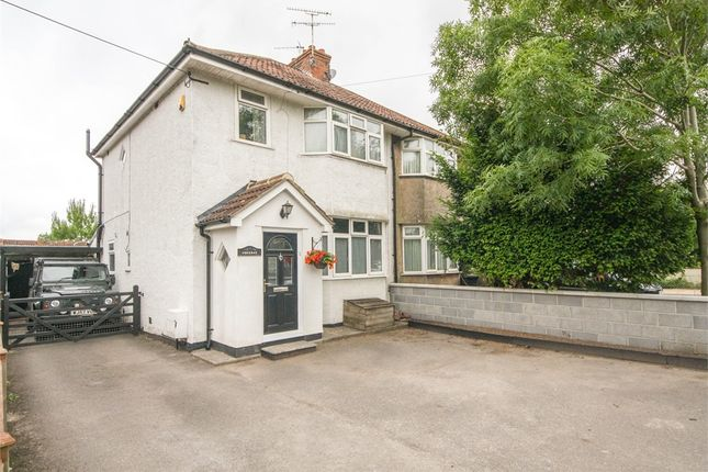 Thumbnail Semi-detached house for sale in Lucerne, Upper New Road, Cheddar, Somerset