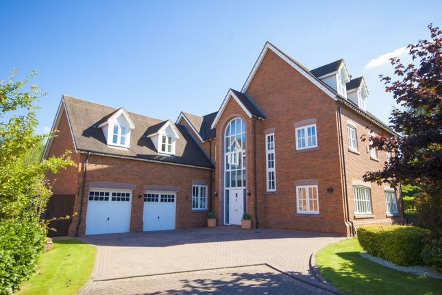 Thumbnail Detached house for sale in Sandford Crescent, Wychwood Park, Weston
