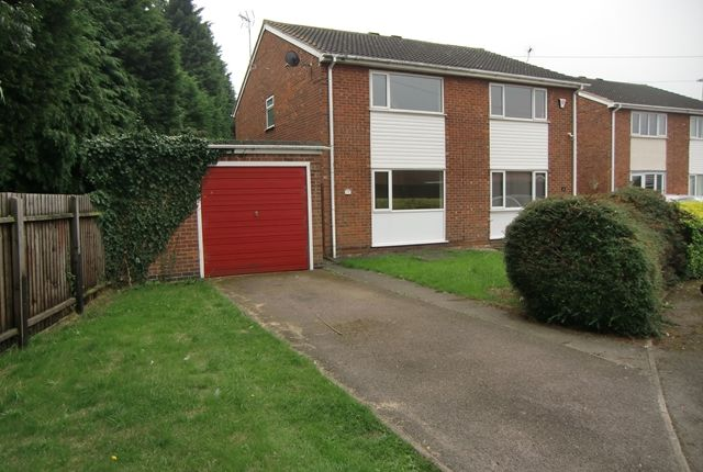 Thumbnail Semi-detached house to rent in Christopher Drive, Leicester