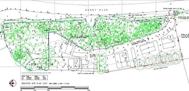 Thumbnail Land for sale in Lilys Cottage, Derby Road, Alfreton, Derbyshire
