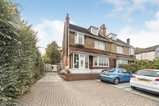 Front of Brighton Road, Purley, Surrey, . CR8