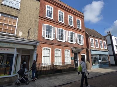Thumbnail Office to let in Ground Floor, Crown Street, St Ives, Cambridgeshire