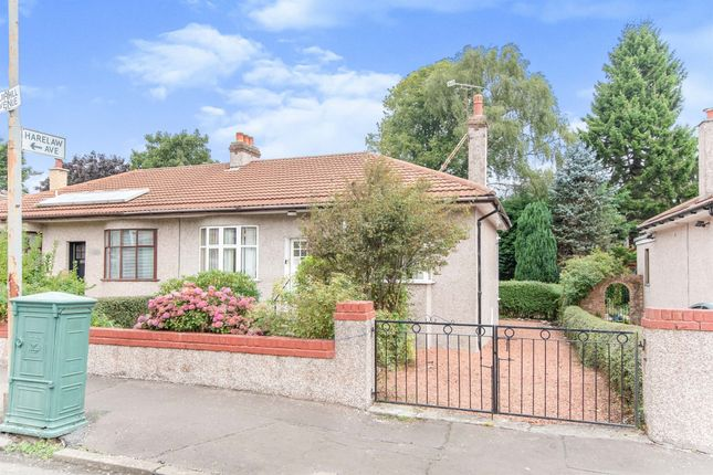 Thumbnail Semi-detached bungalow for sale in Muirhill Avenue, Muirend, Glasgow