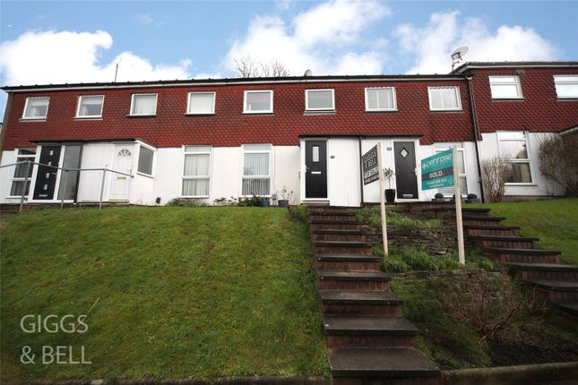 3 bed terraced house for sale in Trowbridge Gardens, Luton, Bedfordshire LU2