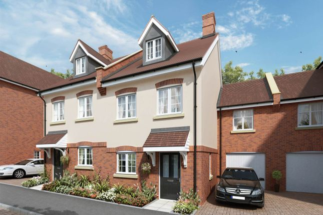 "Thumbnail Semi-detached house for sale in ""The Chester"" at The Ridgeway, Enfield"