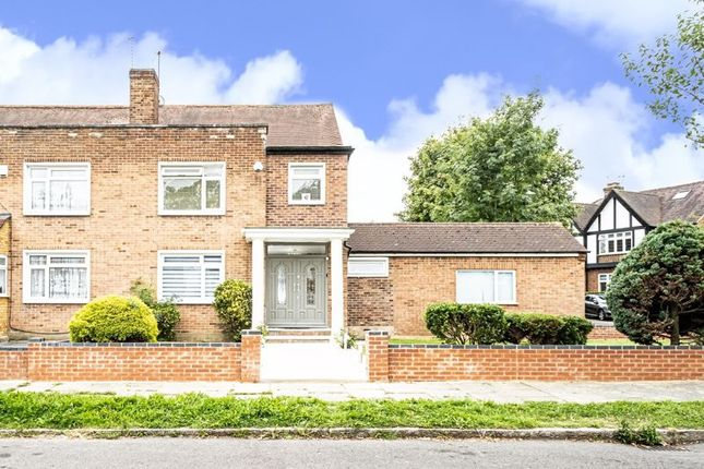 Thumbnail Semi-detached house for sale in Greystoke Avenue, Pinner