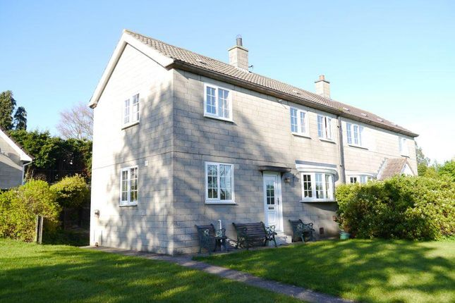 Thumbnail Semi-detached house for sale in Manor Close, Whalton, Morpeth