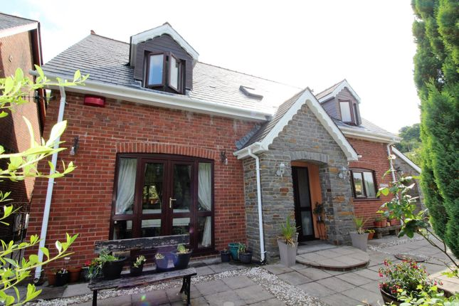 Thumbnail Detached house for sale in Lower Road, Elliots Town, New Tredegar
