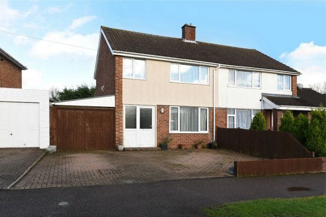 Thumbnail Semi-detached house for sale in Stanhope Road, Bedford