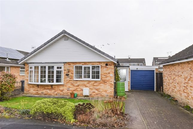 Thumbnail Detached bungalow for sale in Acomb Wood Close, York