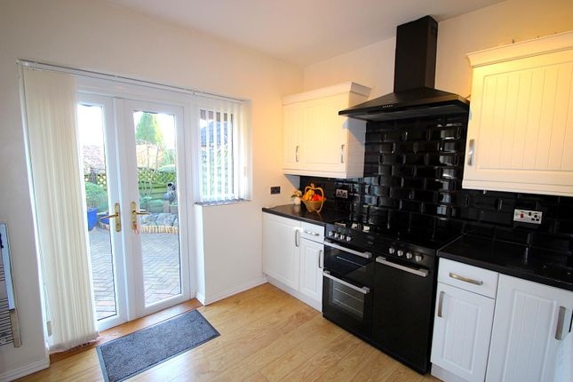 Kitchen of Meadow View, Botcheston, Leicester LE9