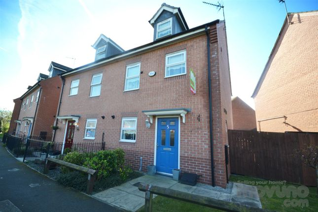 Thumbnail Town house for sale in Steley Way, Manor Court, Prescot