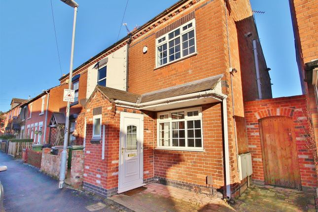 Thumbnail End terrace house for sale in Gladstone Street, Anstey, Leicestershire
