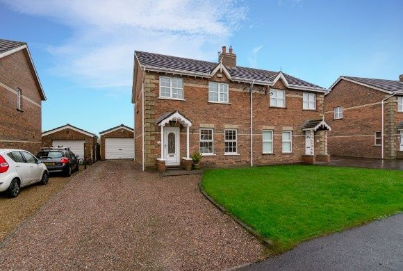 Thumbnail Semi-detached house for sale in The Beeches Manor, Stoneyford, Lisburn