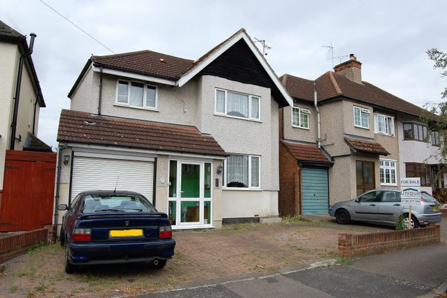 Thumbnail Detached house for sale in Arundel Road, Harold Wood