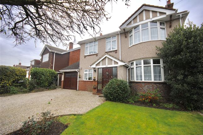 Thumbnail Detached house for sale in Galleywood Road, Chelmsford, Essex