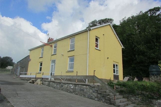 Thumbnail Detached house for sale in Woolstone Farm, Backe Road, St Clears, Carmarthen
