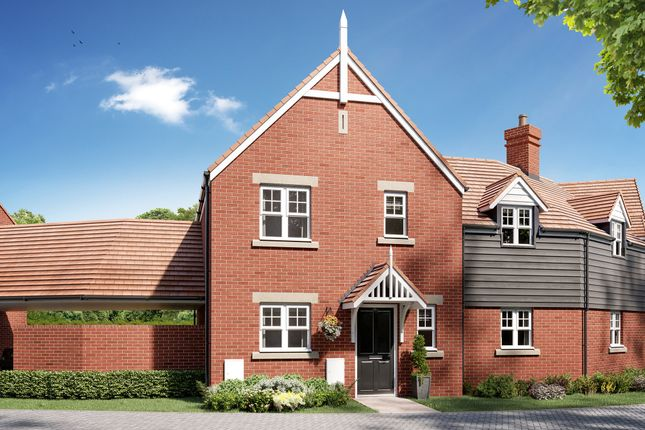 """Thumbnail Semi-detached house for sale in """"The Chester Link"""" at London Road, Stanway, Colchester"""