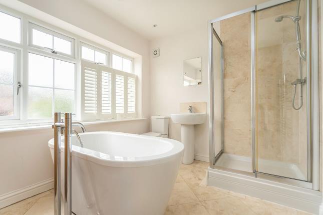 Bathroom of Goring Road, Steyning, West Sussex, England BN44