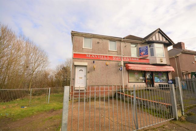 Thumbnail Commercial property for sale in Townhill Road, Mayhill, Swansea