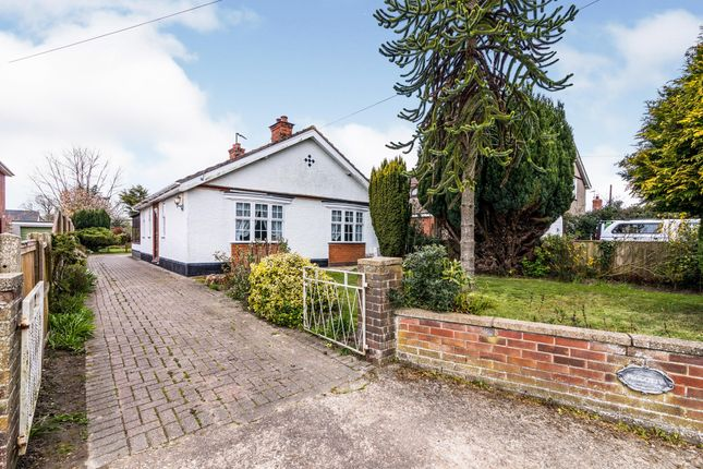 Thumbnail Bungalow for sale in Blundeston, Lowestoft, Suffolk