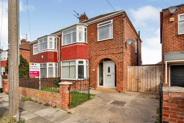 Thumbnail Semi-detached house for sale in Southbrooke Avenue, Hartlepool