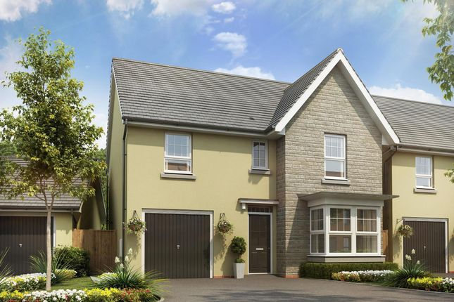"Thumbnail Detached house for sale in ""Somerton"" at Tiverton Road, Cullompton"