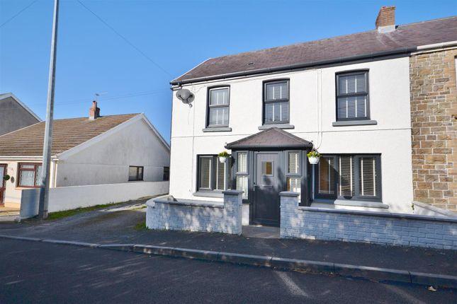 Thumbnail Semi-detached house for sale in Heol Rhosybonwen, Cross Hands, Llanelli