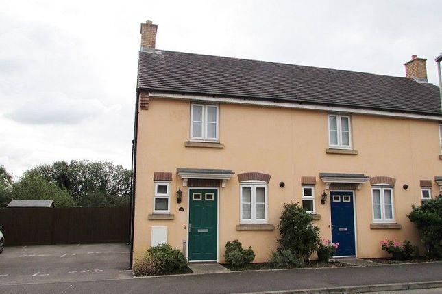 Thumbnail End terrace house to rent in Longacres, Brackla, Bridgend.