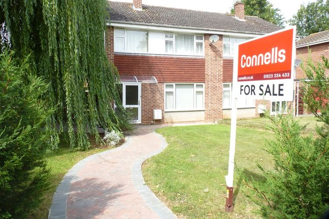 Thumbnail Semi-detached house for sale in Longmead Way, Taunton