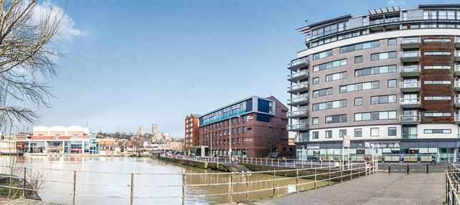 Thumbnail Flat for sale in Brayford Street, Lincoln