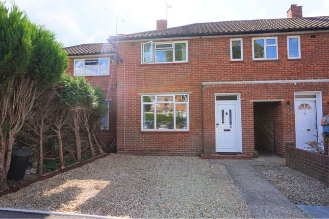 Thumbnail Terraced house for sale in Henslow Way, Woking