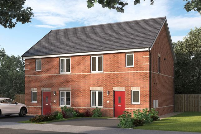Thumbnail Semi-detached house for sale in Lancaster Court, Auckley, Doncaster