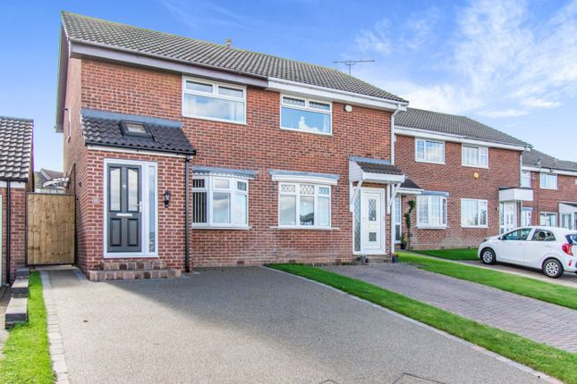 2 bed semi-detached house for sale in Bramley Grange Crescent, Rotherham S66