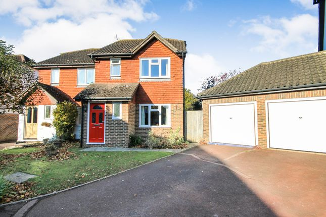Thumbnail Semi-detached house for sale in Dukes Meadow, Chiddingstone Causeway, Tonbridge