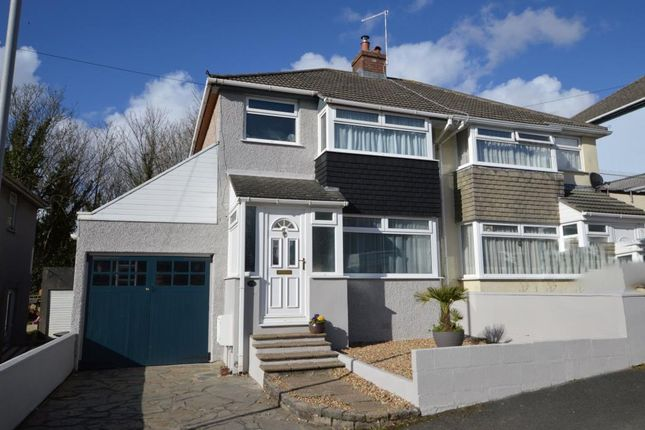 3 bed semi-detached house for sale in Fanshawe Way, Plymouth, Devon PL9
